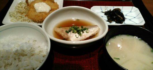 魚の日替わりランチ