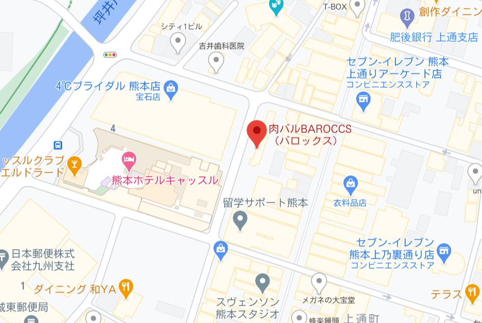 バロックス地図