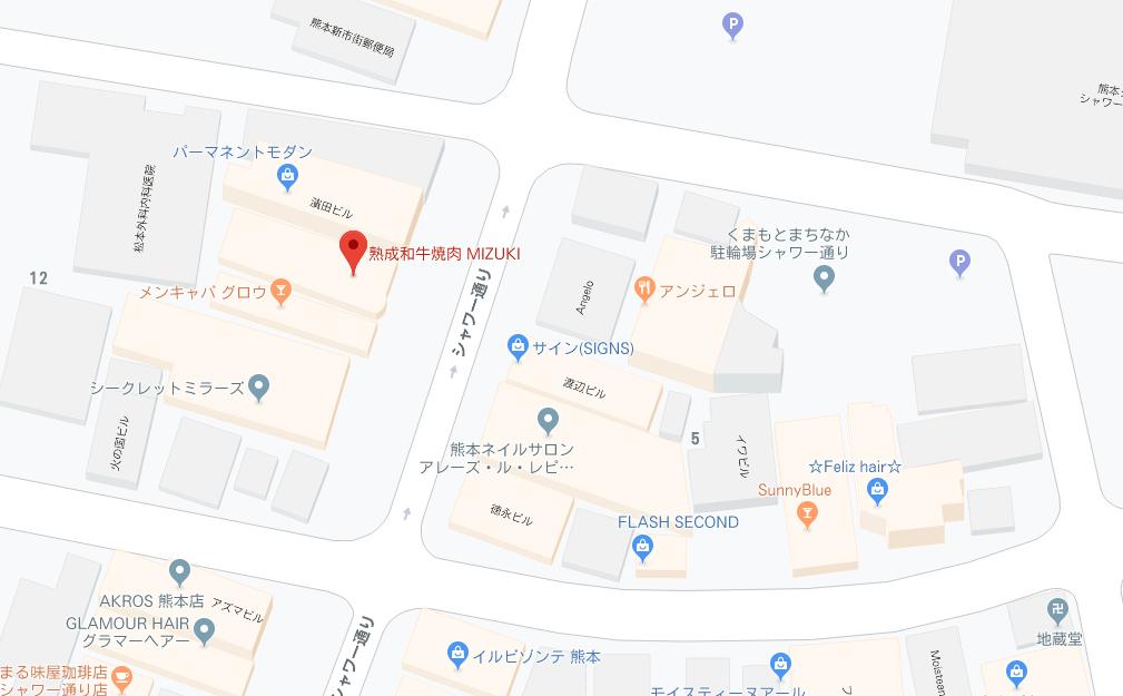 MIZUKI地図