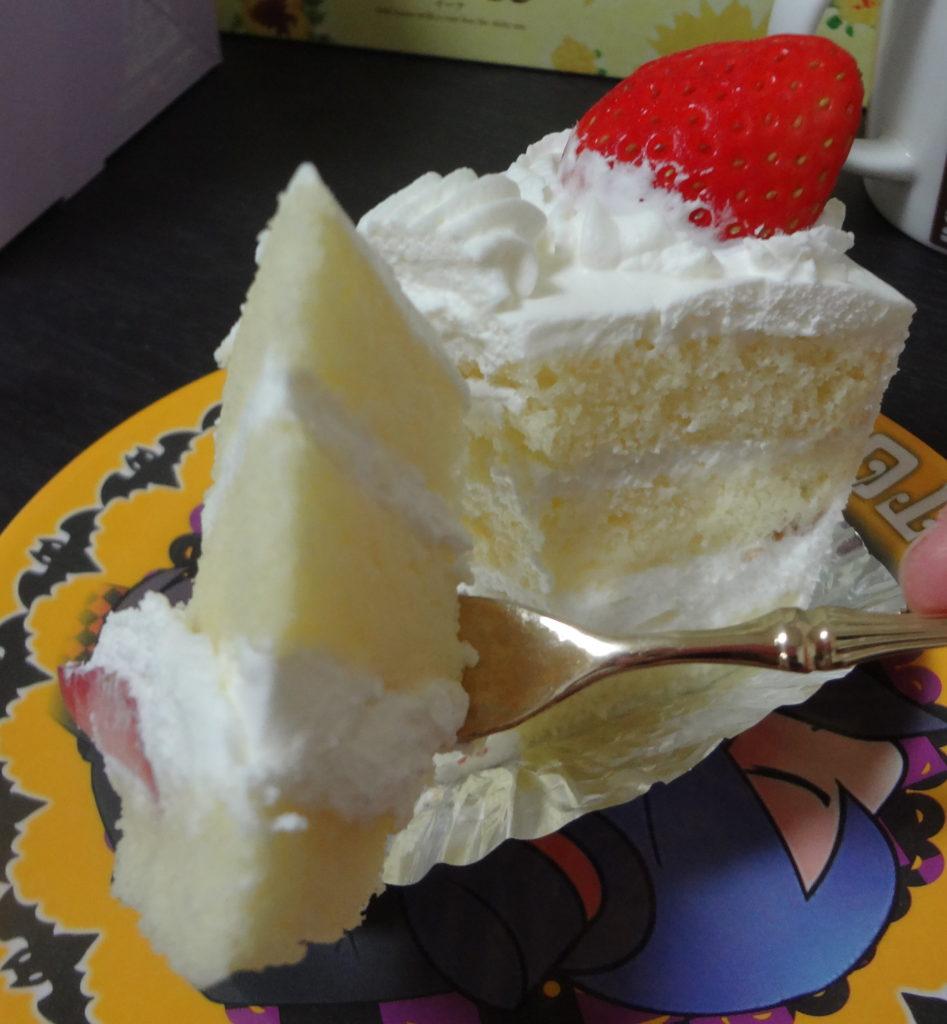 ショートケーキアップ