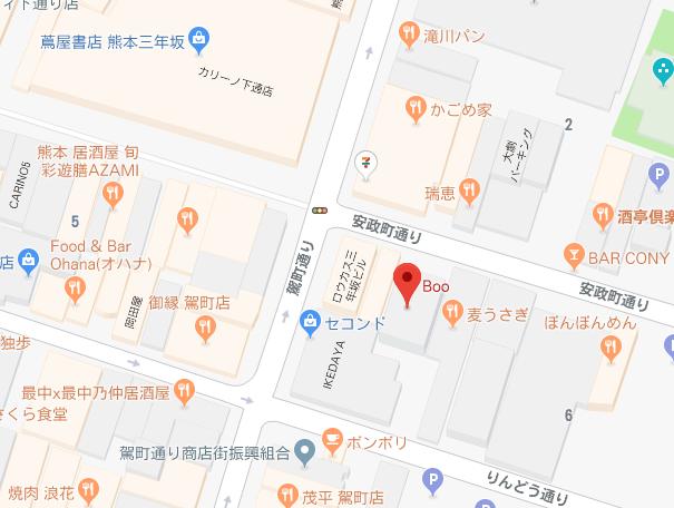 boo地図