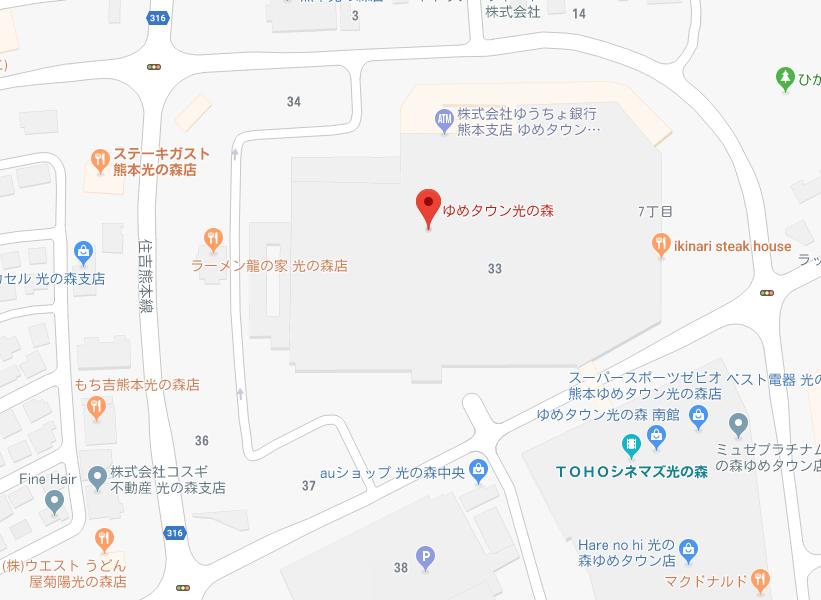 ティーウェイ地図