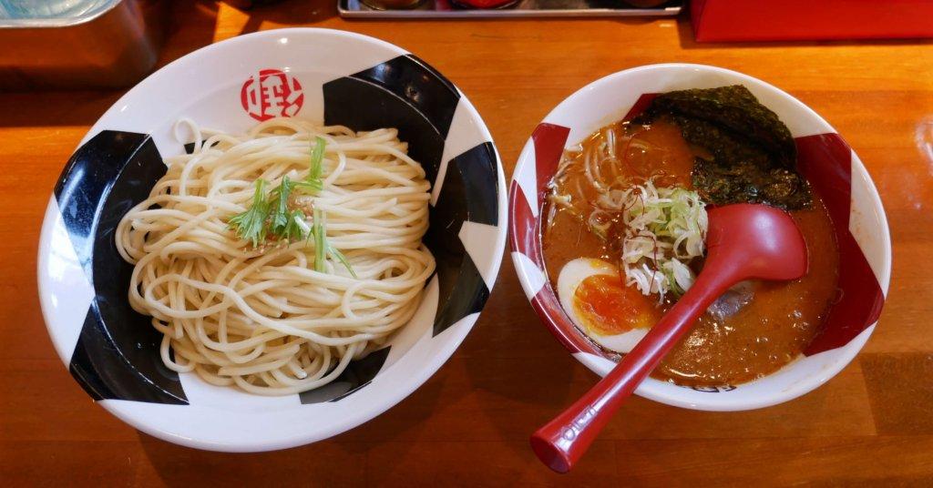 赤節つけ麺