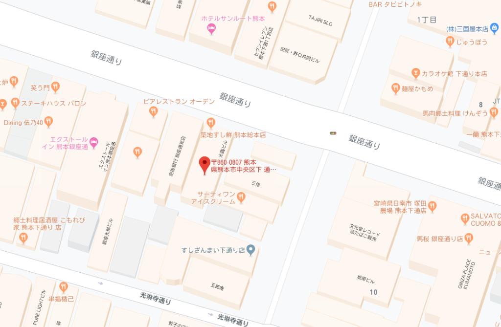 午砲台地図