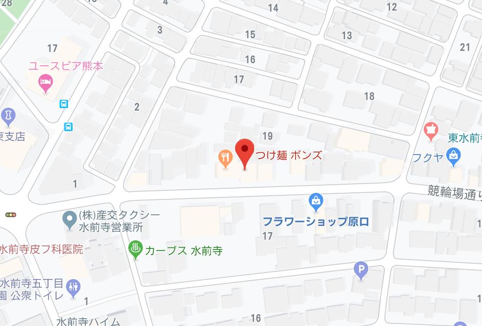 ボンズ地図