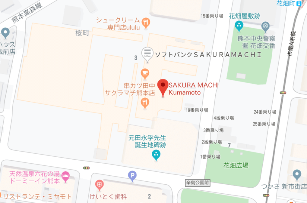 まきの地図
