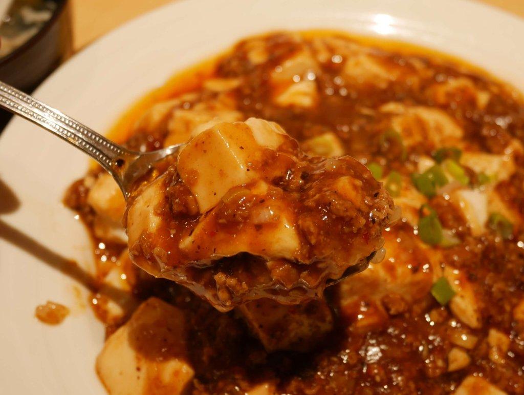マーボー豆腐アップ