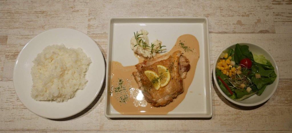 チキンのレモングリルソース