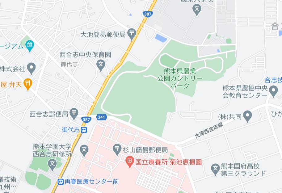 カントリーパーク地図