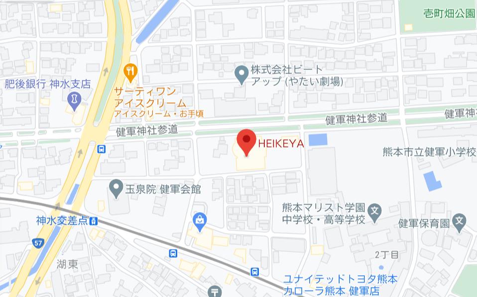 HEIKEYA地図