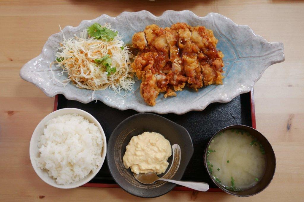 黒酢チキン南蛮定食